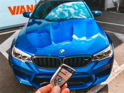 В гостях BMW M5 F90