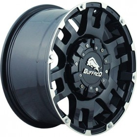 Диски BUFFALO BW-004 GLOSS-BLACK-MACHINED-FACE R20 6x139.7 ET30.0 9.0J DIA106.3