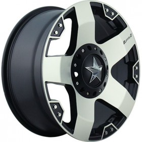 Диски BUFFALO BW-775 MACHINED-FACE-W_BLK-WINDOWS R20 5x139.7-150 ET10.0 8.5J DIA110.5
