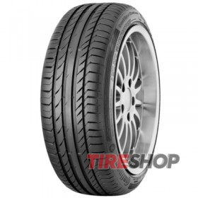 Шины Continental ContiSportContact 5 235/40 ZR17 90W FR