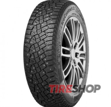 Шины Continental IceContact 2 255/45 R19 104T XL (шип)