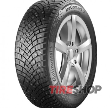 Шины Continental IceContact 3 205/60 R16 96T XL (шип) Германия 2019