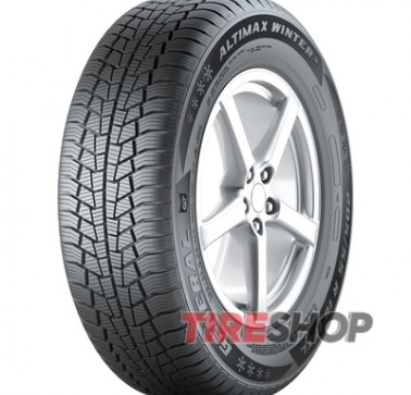 Шины General Tire Altimax Winter 3 185/65 R15 88T Франция 2018