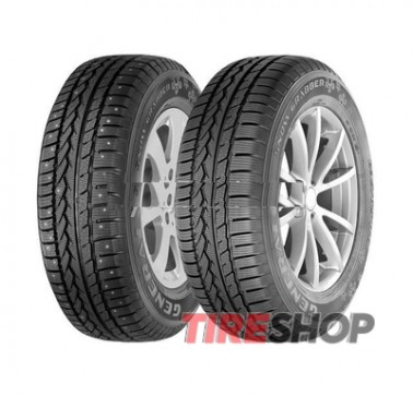 Шины General Tire Snow Grabber 215/70 R16 100T (шип) Германия 2017