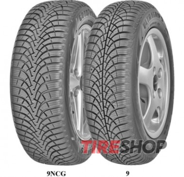 Шины Goodyear UltraGrip 9 175/65 R15 84T Словения 2017