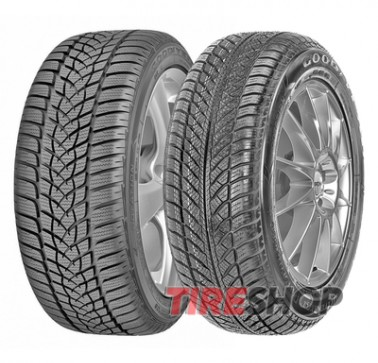 Шины Goodyear UltraGrip Performance 2 225/55 R17 97H