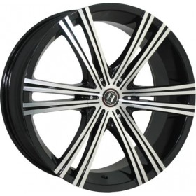 Диски HARP Y-28 Glossy-Black_Machined-Face R20 5x114.3 ET40.0 8.5J DIA74.1