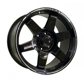 Диски Off Road Wheels OW742 BLACK R20 6x139.7 ET18.0 9.0J DIA110.5