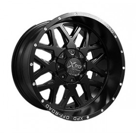Диски Off Road Wheels OW8042 M19M14XB R20 12x135-139.7 ET-24.0 10.0J DIA110.1