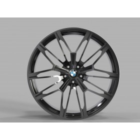 Диски Replica FORGED B2262 GLOSS-BLACK-WITH-DARK-MACHINED-FACE_FORGED R22 5x112 ET43.0 10.5J DIA66.5