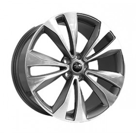 Диски Replica FORGED LR2225 GLOSS-GRAPHITE-WITH-MACHINED-FACE_FORGED R22 5x120 ET49.0 9.5J DIA72.5