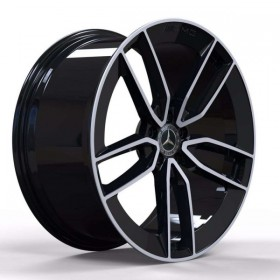Диски Replica FORGED MR399B GLOSS-BLACK-WITH-MACHINED-FACE_FORGED R23 5x112 ET47.0 11.5J DIA66.6