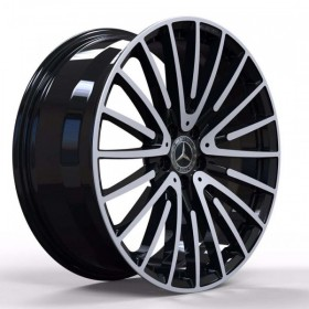 Диски Replica FORGED MR565 GLOSS-BLACK-MACHINED-FACE_FORGED R20 5x112 ET38.0 8.5J DIA66.6