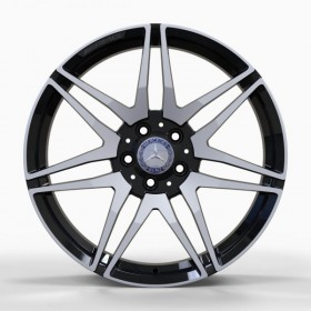 Диски Replica FORGED MR874 GLOSS-BLACK-WITH-MACHINED-FACE_FORGED R19 5x112 ET52.0 8.0J DIA66.5