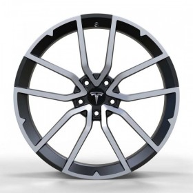 Диски Replica FORGED TES1340 GLOSS-BLACK-WITH-MACHINED-FACE_FORGED R19 5x114.3 ET40.0 8.5J DIA64.1