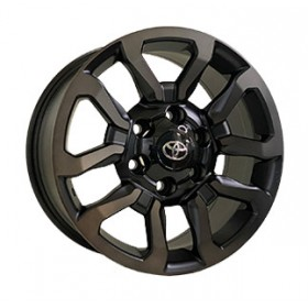 Диски Replica FORGED TY1623 MATT_BLACK_FACE_POLISHED_BLACK_COTING R17 6x139.7 ET30.0 7.5J DIA106.1