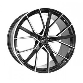 Диски Replica LegeArtis A970 GLOSS-BLACK-WHITH-MACHINED-FACE_FORGED R22 5x112 ET21.0 10.0J DIA66.5