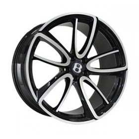 Диски Replica LegeArtis BN1040L GLOSS-BLACK-WHITH-MATTE-POLISHED_FORGED R21 5x112 ET41.0 9.5J DIA57.1