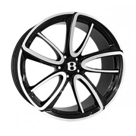 Диски Replica LegeArtis BN1040R GLOSS-BLACK-WHITH-MATTE-POLISHED_FORGED R21 5x112 ET41.0 9.5J DIA57.1