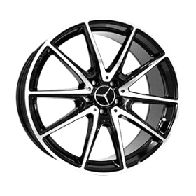 Диски Replica LegeArtis MR5008 BKF R20 5x112 ET38.0 8.5J DIA66.6
