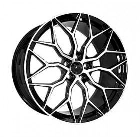 Диски Vissol Forged F-1031 GLOSS-BLACK-WITH-MACHINED-FACE R21 5x120 ET49.0 9.5J DIA72.6