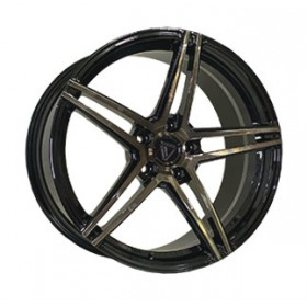 Диски Vissol Forged F-1116 GLOSS-BLACK-WITH-DARK-MACHINED-FACE R19 5x112 ET44.0 9.0J DIA66.6