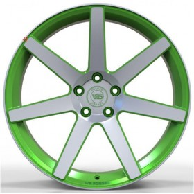Диски WS FORGED WS1245 MATTE_GREEN_WITH_MACHINED_FACE_FORGED R20 5x115 ET18.0 9.5J DIA71.6
