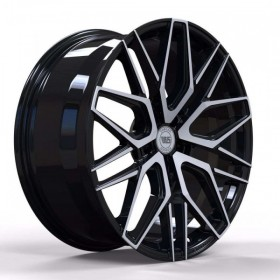 Диски WS FORGED WS1281 GLOSS_BLACK_WITH_MACHINED_FACE_FORGED R20 5x112 ET40.0 10.5J DIA66.5