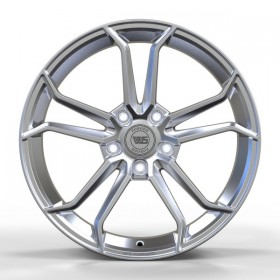 Диски WS FORGED WS1344 FULL_BRUSH_SILVER_FORGED R18 5x120 ET50.0 8.0J DIA65.1