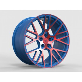 Диски WS FORGED WS2106 MATTE_BLUE(inside)_WITH_RED(outside)_FACE_FORGED R20 5x114.3 ET45.0 10.5J DIA70.5