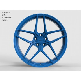 Диски WS FORGED WS2123 MATTE_BLUE_FORGED R20 5x114.3 ET45.0 10.5J DIA70.5