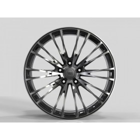Диски WS FORGED WS2252 GLOSS-BLACK-MACHINED-FACE_FORGED R21 5x130 ET46.0 9.5J DIA71.6
