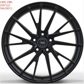 Диски WS FORGED WS895 FULL_BRUSH_BLACK_FORGED R19 5x112 ET44.0 8.5J DIA57.1