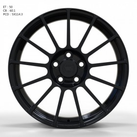 Диски WS FORGED WS923B Gloss_Black_FORGED R18 5x114.3 ET50.0 8.0J DIA60.1