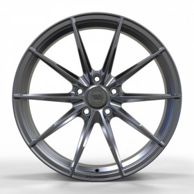 Диски WS FORGED WS947 FULL_BRUSH_BLACK_FORGED R19 5x114.3 ET50.0 8.5J DIA64.1